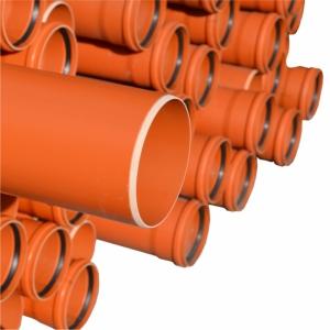 TUB KompactKIT PVC M.STRAT MUFA D.400x11,7mm SN8 L1m
