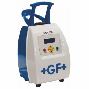 APARAT SUDURA ELECTROFITINGURI GF MSA 330 D.max 800 mm SCANER