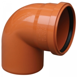 CURBA CANAL KompactKIT PVC 87grd D.110