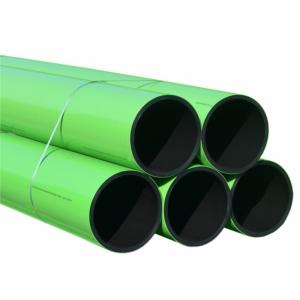 TUB AgriPRO IRIGATIE PE100 CU ACOPERIRE PROTECTIVA PP FIR INOX D.315 PN8 SDR21 13m