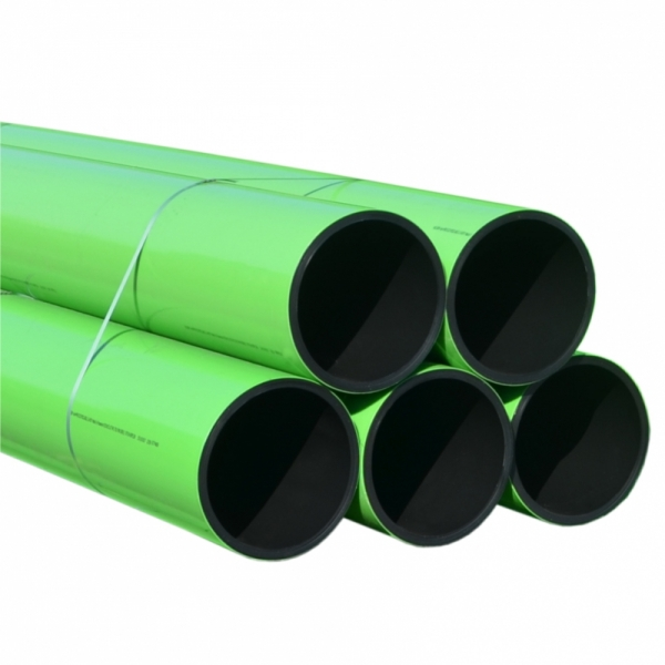 TUB AgriPRO IRIGATIE PE100 CU ACOPERIRE PROTECTIVA PP FIR INOX D.355 PN6 SDR26 13m