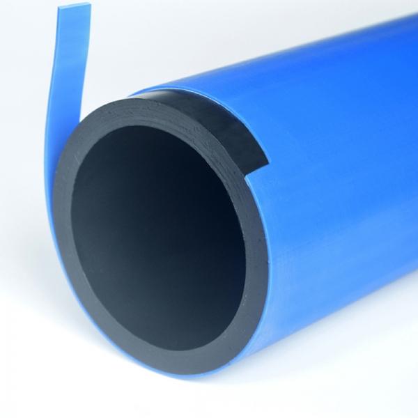 TUB WaterPro  APA POTABILA PE100 CU ACOPERIRE PROTECTIVA PP FIR INOX D. 90 PN16 SDR11 BARA 13m