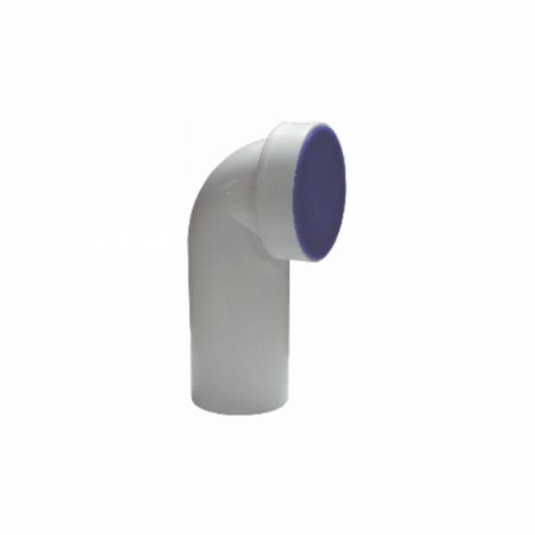 COT WC  EasyKIT  ALB 90grd PP D.110GARNITURA SI DOP