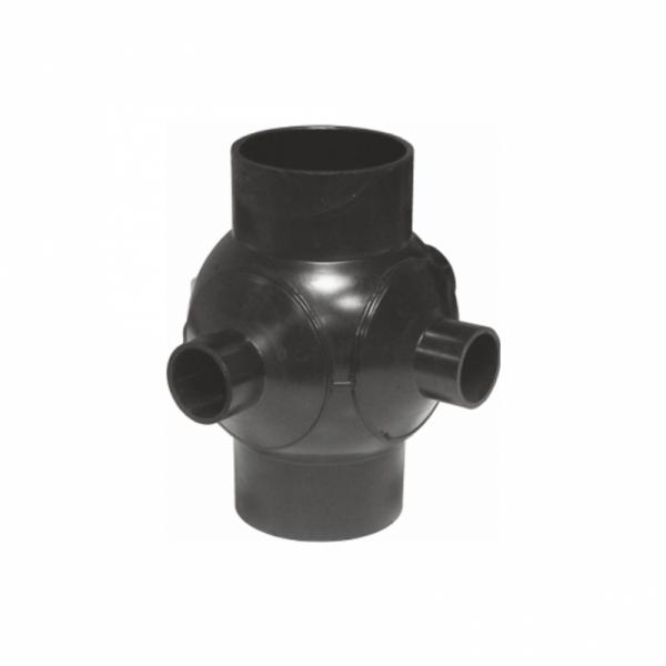 RAMIF. SFERA SafeKIT PEHD 90grd D.125 2 DERIV.D1. 50