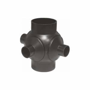 RAMIF. SFERA SafeKIT PEHD 90grd D.125 3 DERIV.D1. 50