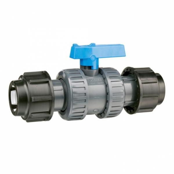 ROBINET APA WaterKIT  PVC D. 32 MUFA-MUFA PN16