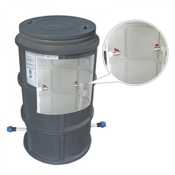 "CAMIN  WaterKIT  DUBLUSTRAT D.550 H=1100 INSTALATIE 1/2"" CAPAC"
