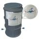 """CAMIN  WaterKIT  DUBLUSTRAT D.550 H=1100 INSTALATIE 1/2"""" CONTOR CAPAC"""