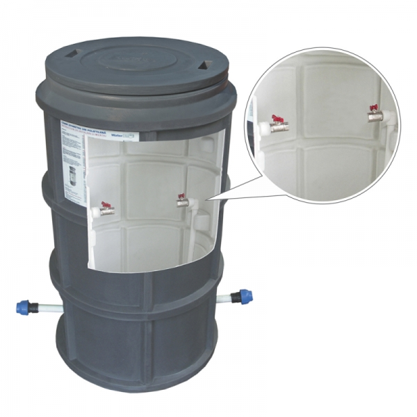 """CAMIN  WaterKIT  DUBLUSTRAT D.550 H=1100 INSTALATIE 3/4"""" FILTRU SI CAPAC"""