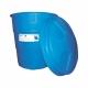 REZERVOR APA StockKIT V= 300 litri CONIC VERTICAL ALBASTRU