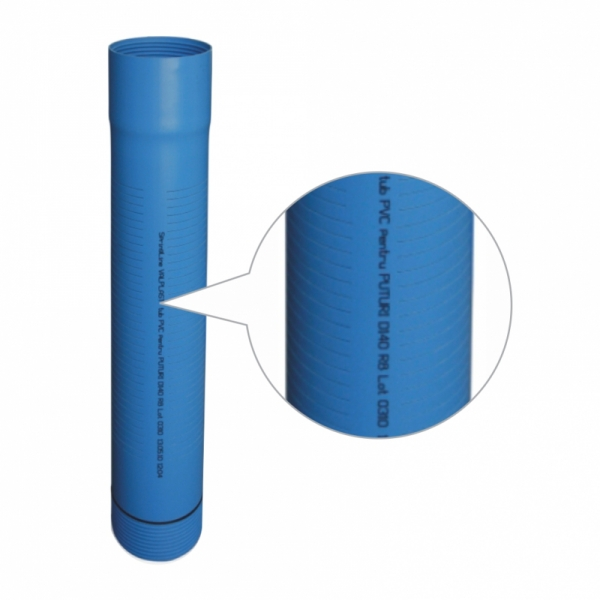 FILTRU SpringKIT PVC PT.PUTURI FANTE 0.75mm D.140x6,7mm R10 L5m